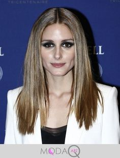 Olivia Palermo Long Straight Cut - Olivia Palermo sported pin-straight hair at the Martell Cognac anniversary party. Side Curls Hairstyles, Hairstyles For Fat Faces, Faux Locs Hairstyles, Straight Hairstyles, Estilo Olivia Palermo, Olivia Palermo Lookbook, Olivia Palermo Style, Toni And Guy Haircuts, Medium Hair Styles