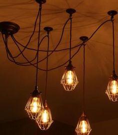 Modern dining chandelier 7 light cluster pendant modern dining room diy pendant aloadofball Gallery