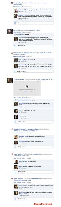 Game Of Thrones Facebook Recap Season 3 Episode 5 | Part 8