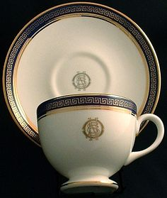 teacup from RMS TITANIC Greek Key China