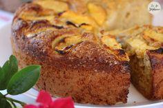 Gâteau à la pêche, recette végétale - La Fée Stéphanie