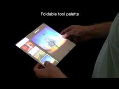 #video - concept study: Interacting with Double-sided Foldable Displays
