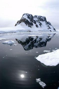 """Frozen Serenity. Kodak Alley, Antarctica.""  Photo taken by ET traveler Uriel Avron."
