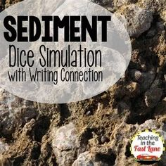 Sediment Dice Simulation and Writing Connection-- love this activity for weathering, erosion, and deposition! Science Topics, Science Curriculum, Science Classroom, Science For Kids, Earth Science, Science Activities, Science Ideas, Teaching Science, Cooperative Learning Strategies