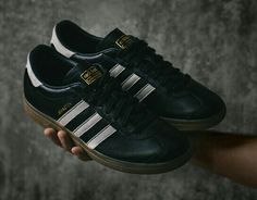 timeless design a2264 a8ed2 The adidas Ashington, finished in black leather with white trim, will be  the latest