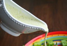 "The Healthy Happy Wife: Creamy ""Ceasar"" Dressing (Dairy Free)"