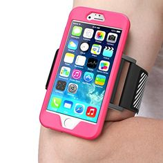 iPhone 6 Armband, SUPCASE Apple iPhone 6 Armband 4.7 inch Easy Fitting Sport Running Armband with Premium Flexible Case Combo for iPhone 6 Case (Pink), Not Fit iPhone 6 Plus 5.5 inch Supcase http://www.amazon.com/dp/B00MYZLNN2/ref=cm_sw_r_pi_dp_Ovbyvb187GM8T