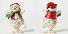Pint Size Walking Snowman