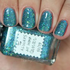 Lynnderella Always At Home Cancer | Peachy Polish