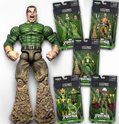 Sinister Six Marvel Legends click to read the blog