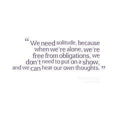 Introvert | Solitude ― Tamim Ansary