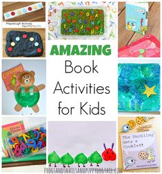 Amazing Book Activities for Kids - FSPDT