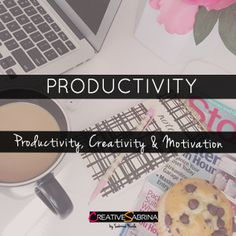 Personal Development. How to be more creative, thoughts on motivation and goal setting, how to stay disciplined and be productive