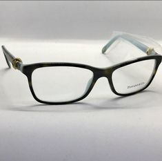 95ef46268a New Tiffany   Co. 8134 55-16-140 Black Blue RX Eyeglasses Glasses Frames  55mm