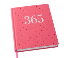 We're so excited to introduce a fresh design of the much-loved 365 Journal. This beautiful Journal features 365 numbered pages – one for every day of the year. Available in two limited edition colours - mint and fuchsia.