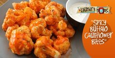 Spicy Buffalo Cauliflower Bites ~Trim Healthy Mama Friendly~   These spicy little babies will liven up any table or an end of the summer BBQ. This simple yet delicious dish is the perfect side…