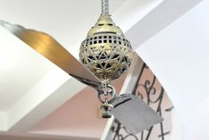 Antique Tuerk ceiling fan ca. 1886 Antique Ceiling Fans, Vintage Fans, Electric Fan, Arches, Lighting, Antiques, Fashion Design, Inspiration, Style