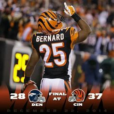 Dec 22 2014 clinched a playoff spot who dey