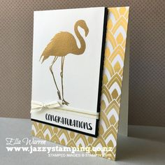 Fabulous Flamingo for OnStage | Jazzy Stamping