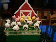 Bakerella farm cake pops