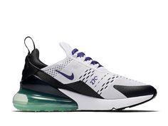 san francisco 94dac 83b36 Nike Air Max 270 QS Chaussure Sportswear Pas Cher Pour Femme Enfant Noir  vert blanc