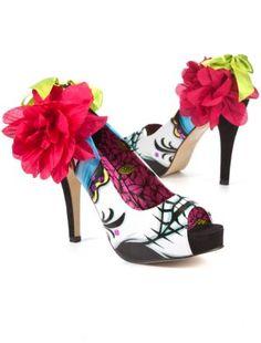 Resultado de imagem para fiesta de los muertos shoes