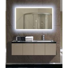 Rectangular Backlit Large LED Mirror-Gorgeous!!!