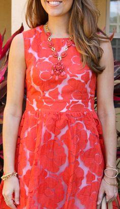 c luce poppy fit n flare dress