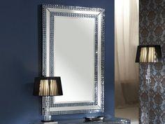 Espejo moderno de cristal Modelo Brooklyn. Tu tienda online de espejos modernos www.decoracionbeltran.com