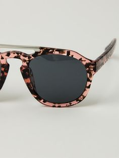 Shop DRIES VAN NOTEN BY LINDA FARROW GALLERY 'Dries Van Noten' sunglasses from Farfetch