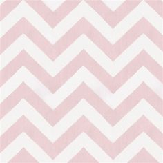 Pink Zig Zag Fabric by the Yard | Carousel Designs- Dylann's accent pillows
