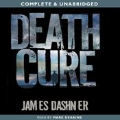 I finished listening to The Death Cure: The Maze Runner, Book 3 (Unabridged) by James Dashner, narrated by Mark Deakins on my Audible app.  Try Audible and get it free.
