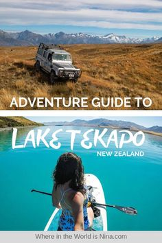 Thinking of visiting Lake Tekapo in New Zealand? Don't go without reading this guide on all the epic adventures you can get up to. Here's a list of things to do in Lake Tekapo. Pin this to your New Zealand travel board for later. New Zealand Itinerary, New Zealand Travel Guide, Work Overseas, Travel Goals, Travel Plan, Lake Tekapo, Backpacking Europe, Travel Companies, Best Hikes