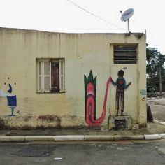 """83 curtidas, 3 comentários - Paulo Henrique (@paulo_espirito) no Instagram: """"Baixada do Glicério - Cidade Cinza - São Paulo Artwork by: @lunabuschinelli…"""""""