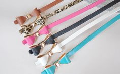 belts bow different colours http://www.deepdevotion.be/accessoires/441-strik-riem-verschillende-kleuren.html