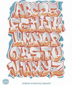 Graffiti Letters Styles, Graffiti Text, Graffiti Doodles, Graffiti Writing, Graffiti Designs, Graffiti Wall Art, Lettering Fonts Design, Tattoo Lettering Fonts, Doodle Lettering