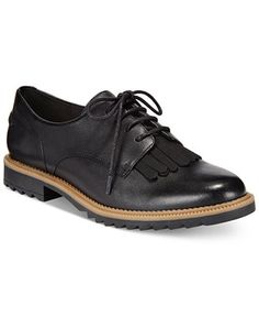 88b62320612 Clarks Somerset Women s Griffin Mabel Oxford Flats - Flats - Shoes - Macy s  Casual Oxford Shoes
