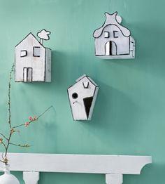 #DIY paper houses