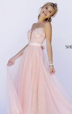Beaded Lace Gown by Sherri Hill 32229