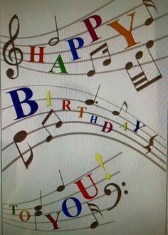 . Free Singing Birthday Cards, Happy Birthday Music, Happy Birthday Ecard, Happy Birthday Wishes Cards, Birthday Wishes For Friend, Happy Birthday Flower, Birthday Blessings, Happy Birthday Pictures, Funny Birthday