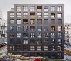 40 Housing Units Paris,France by LAN Architecture