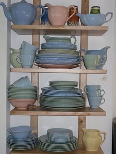 Utility ware - collection growing by ticking stripes, via Flickr