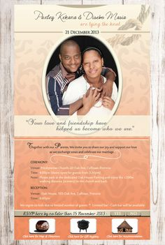 Are you celebrating a traditional African wedding and need an Email or WhatsApp invite design with your traditional colours, cultural elements and wording? Wedding Invitation Card Template, Invitation Design, Invites, Sepedi Traditional Dresses, Traditional Wedding Invitations, We Are Together, Tie The Knots, Vows, Dream Wedding