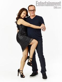 May and Coulson (Mom and Dad) on Agents of SHIELD