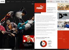 #Puma #Webdesign