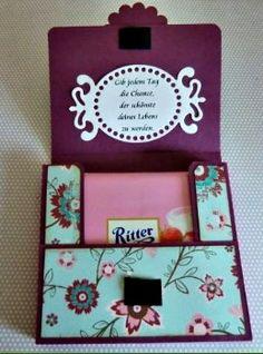 Schokoladenverpackung geöffnet