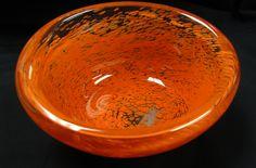 beautiful blown glass bowl