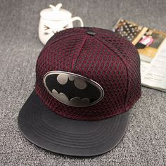 2018 metal Batman Snapback caps Hip Hop Cap man Hat Fashion Casual Batman Baseball Cap Hats For Men Women cosplay casquettes Estilo Fashion, New Fashion, Fashion Hats, Fashion Women, Cheap Fashion, Fashion 2017, Affordable Fashion, Fashion Rings, Fashion Online