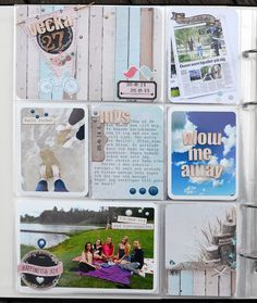 Project Life Norge Kit, Project Life, Baseball Cards, Cover, Projects, Books, Log Projects, Blue Prints, Libros