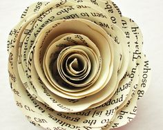 120 Paper Flowers Vintage Wedding Paper Roses Book by BookCraft